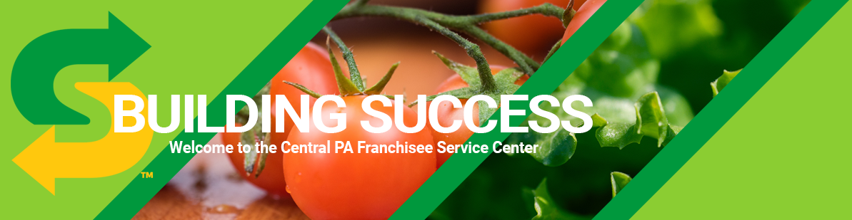 Building Success - Welcome to the Central PA Franchisee Service Center